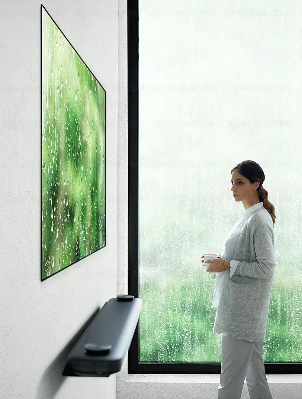TV Oled LG W7V Signature Ultra HD Premium, 65''/77'' Wallpaper