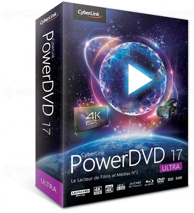 Cyberlink PowerDVD17, UltraHD, HDR etréalitévirtuelle