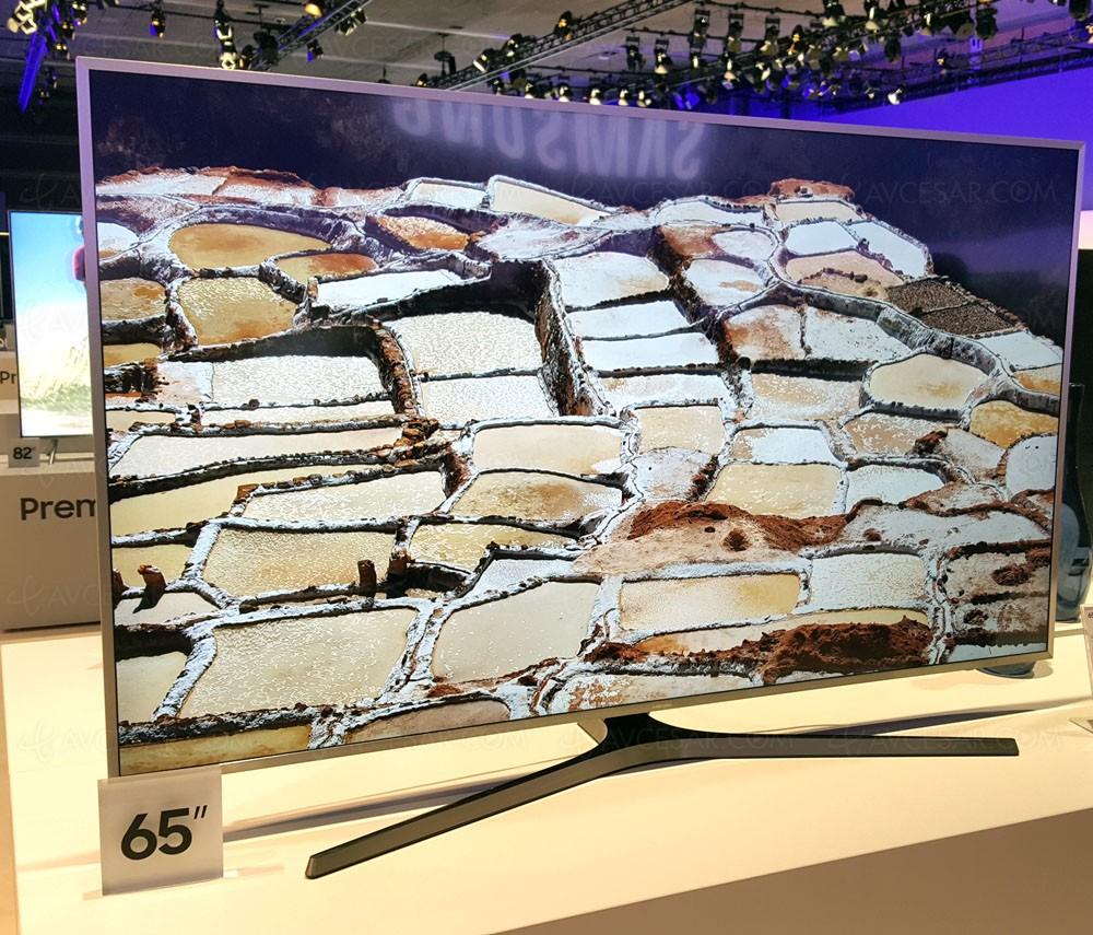 tv led ultra hd samsung mu6405 40 49 55 65 mise jour prix indicatif. Black Bedroom Furniture Sets. Home Design Ideas