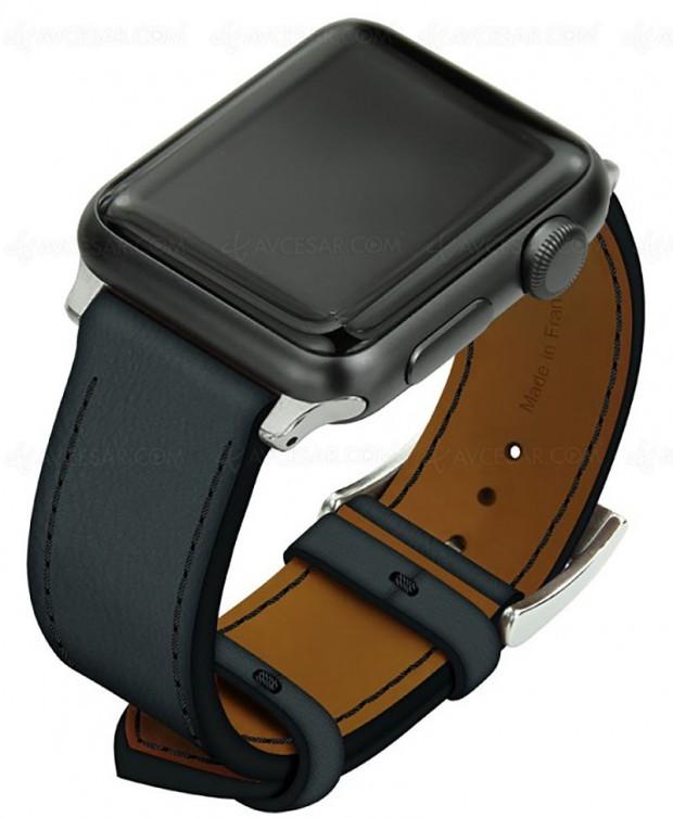 Bracelets cuir haut de gamme Noreve pour AppleWatch