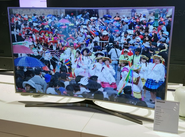 TV LED Ultra HD Samsung MU6505, 49