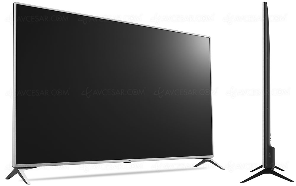tv led ultra hd lg uj651v 43 49 55 60 65 et 75. Black Bedroom Furniture Sets. Home Design Ideas