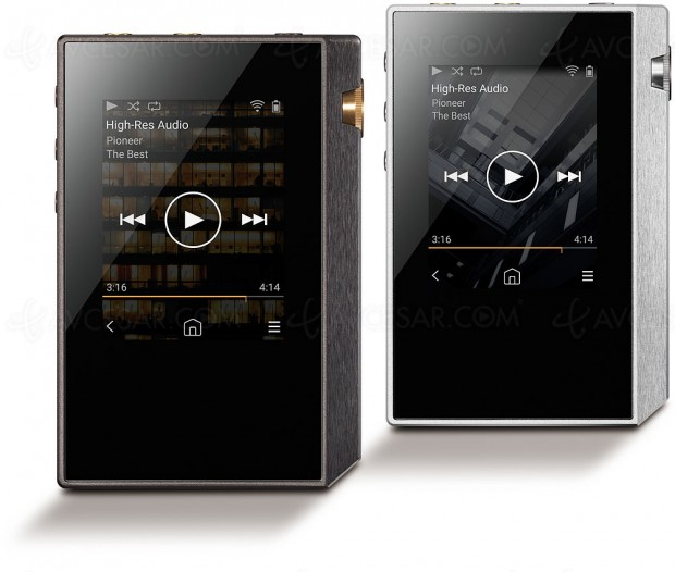 Pioneer XDP-30R, lecteur portable Hi-Res Audio haute performance