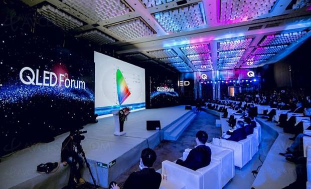Alliance QLED en Chine avec Samsung, Hisense et TCL pour contrer les TV Oled