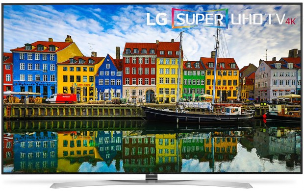 TV LED Ultra HD LG SJ957V, unique 86