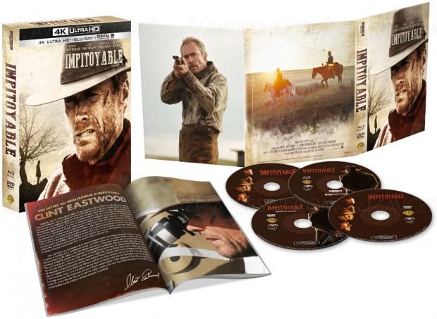 Impitoyable/Clint Eastwood : édition limitée 4K UHD 25e anniversaire