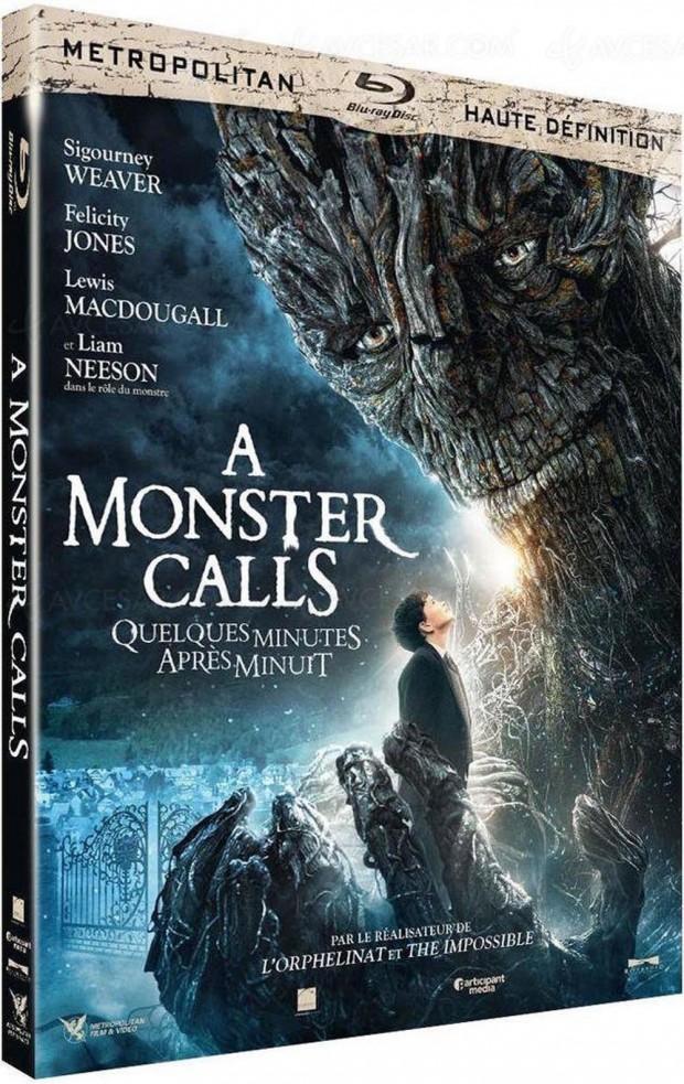 A Monster Calls en Blu-Ray, l'appel du fantastique