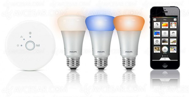 Smart Home : station Sowee EDF compatible Philips Hue