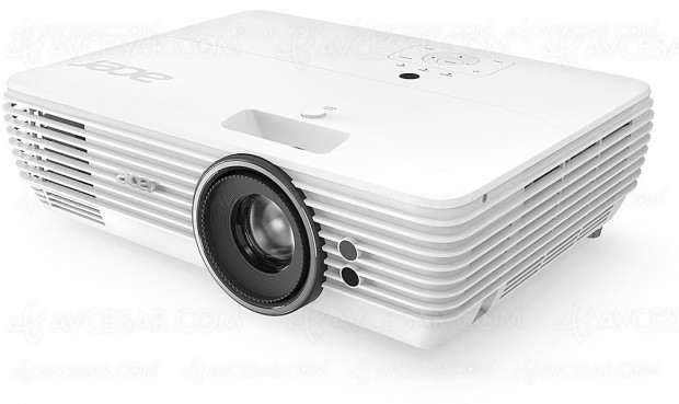 Acer V7850, vidéoprojecteur Home Cinéma Ultra HD/4K, HDR et 100% Rec.709