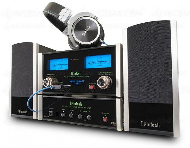 Mcintosh MB50, lecteur réseau DTS Play-Fi