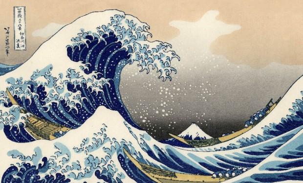 Les œuvres de Hokusai en 8K, l'art japonais explore le futur