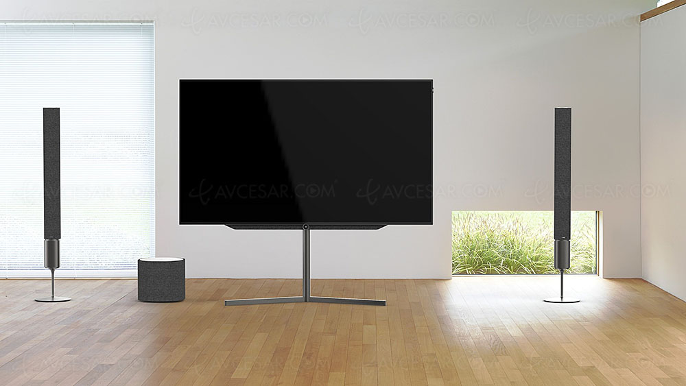 tv oled loewe bild 9 loewe bild 7 et loewe bild 5 5. Black Bedroom Furniture Sets. Home Design Ideas