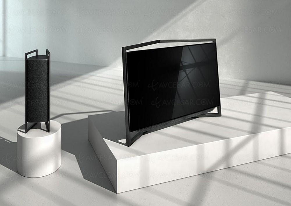 tv oled loewe bild 9 loewe bild 7 et loewe bild 5 5. Black Bedroom Furniture Sets. Home Design Ideas