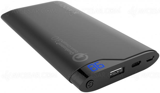 Batteries de secours X‑Moove Powergo Flash compatibles USB‑C