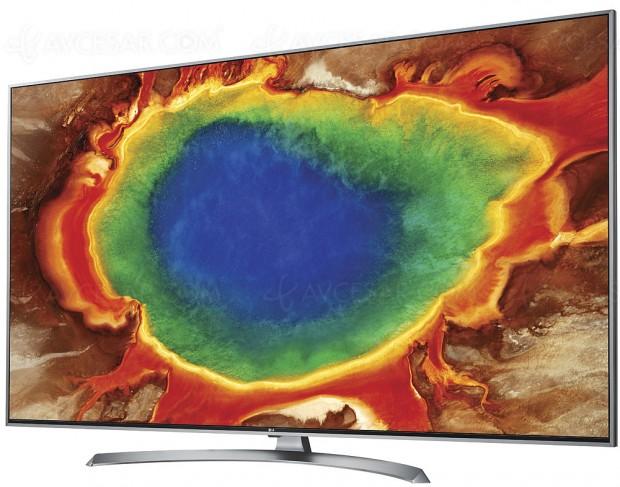 TV LED Ultra HD LG UJ750V, 43