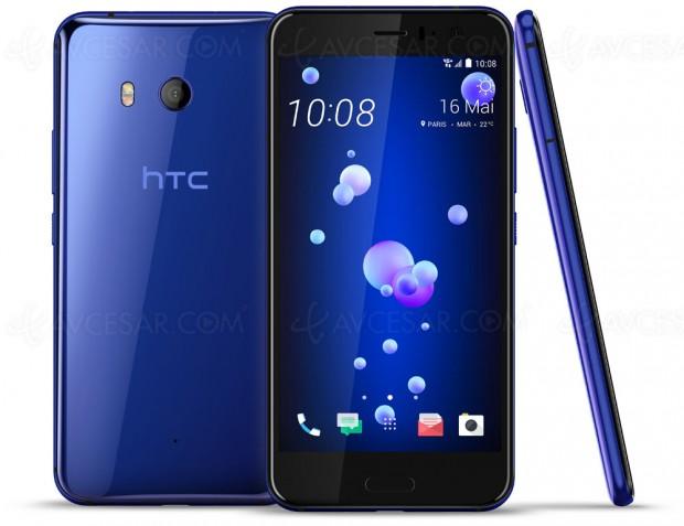 HTC U11, smartphone à pression et haut de gamme (Snapdragon 835)