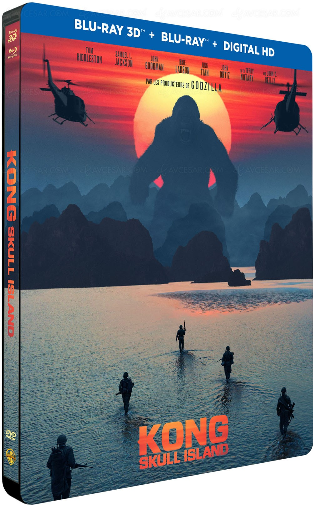 Kong Skull Island Amazon Blu Ray