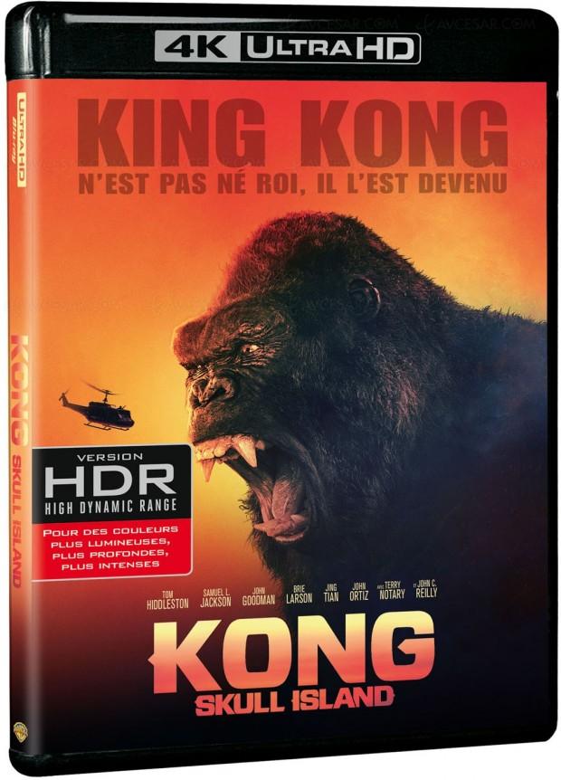 Kong Skull Island taillé pour la 4K Ultra HD