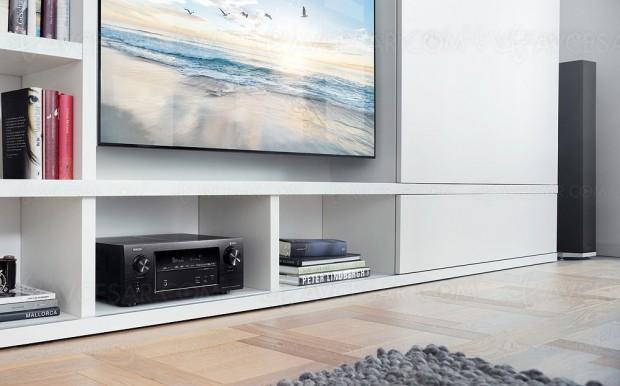 Denon AVR-X2400H, amplificateur 7.2, multiroom Heos, Dolby Atmos 5.1.2 et DTS:X 7.1, Upscaling Ultra HD/4K…