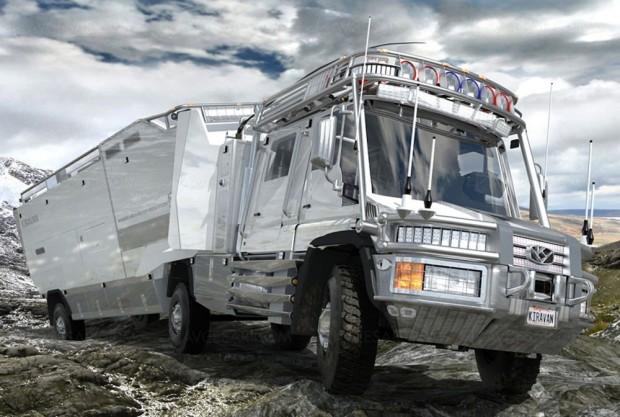 Kiravan, découvrez l'incroyable camping‑car hi‑tech sur mesure