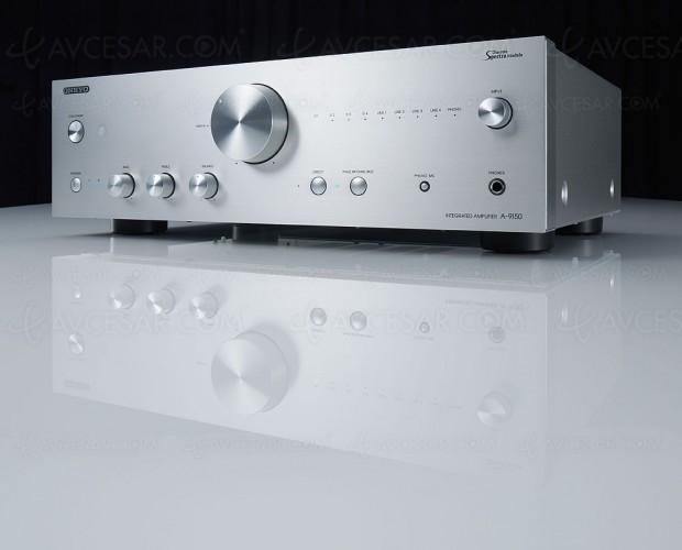 Onkyo A-9150, amplificateur Hi‑Fi stéréo SpectraModule, entrée Phono MM/MC, Dac AKM 768 kHz/32 bits…
