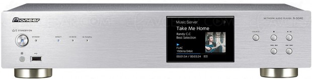 Pioneer N-50AE, lecteur audio DLNA, DSD, AirPlay, multiroom FireConnect, streaming ChromeCast, Dac ESS ES9016S…