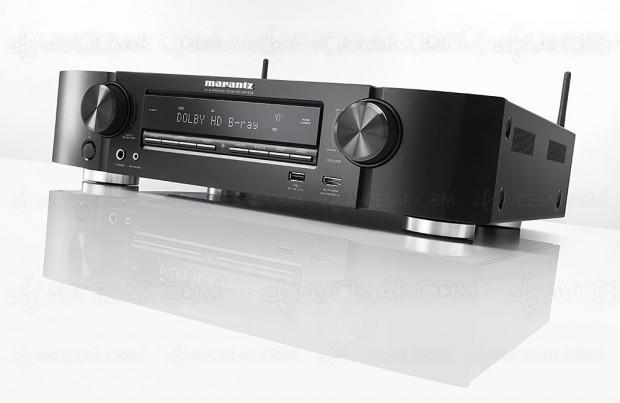 Marantz NR1508, amplificateur Slim 5.2, HDR, multiroom Heos, Dolby TrueHD et DTS‑HD Master Audio…