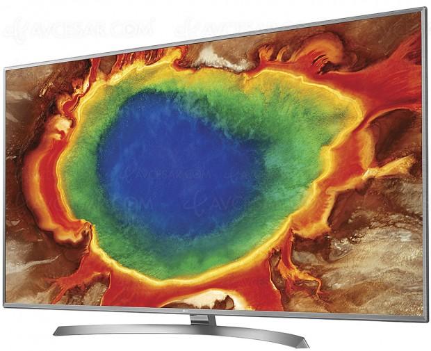 TV LED Ultra HD LG UJ670V, 43