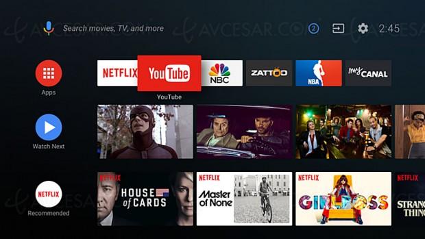 Android TV, coup d'œil sur la nouvelle version Android O