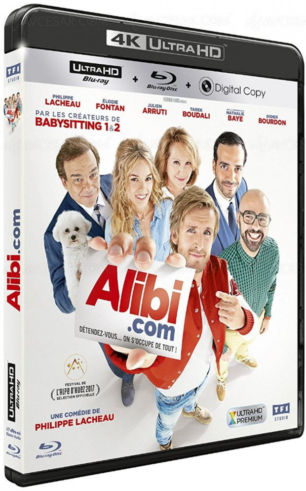 Alibi.com, 2e Ultra HD Blu-Ray français après LA LA Land