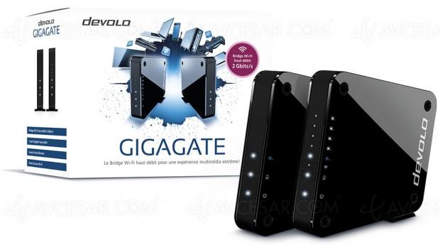 Test routeur/hotspot Wi‑Fi Devolo GigaGate ultra haut débit, en ligne