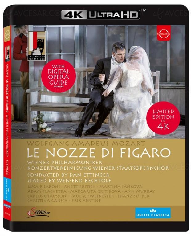 Les noces de Figaro de Mozart déjà en 4K Ultra HD