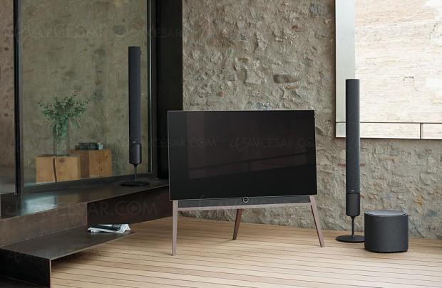 TV Oled Ultra HD Loewe Bild 5, mise à jour spécifications et photos