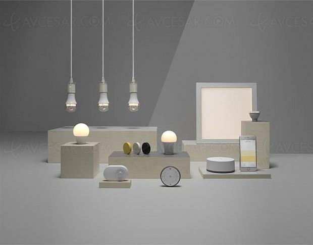 Smart Home : luminaires connectés Ikea bientôt contrôlables à la voix