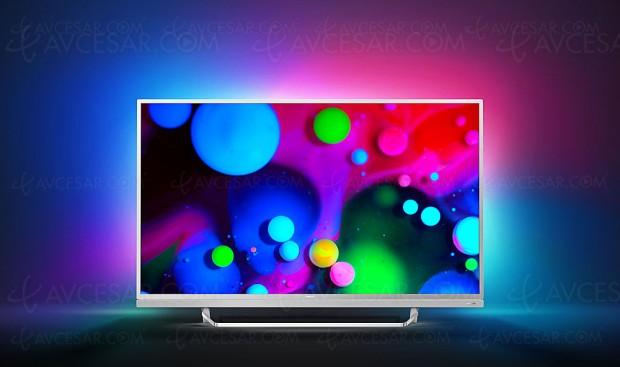 TV LED Ultra HD Philips PUS6482, mise à jour prix indicatifs et disponibilité
