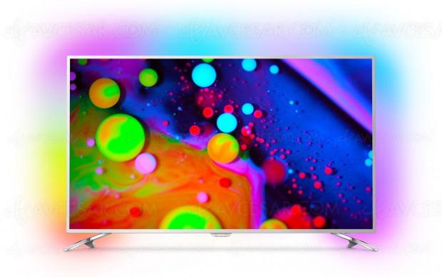 TV LED Ultra HD Philips PUS7202, mise à jour prix indicatifs et disponibilité