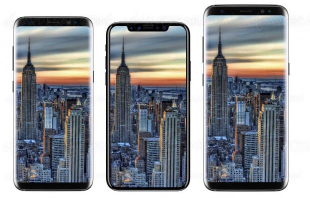 iPhone 8, nouvelles images comparatives avec les iPhone 7/7 Plus et Samsung Galaxy S8/S8+