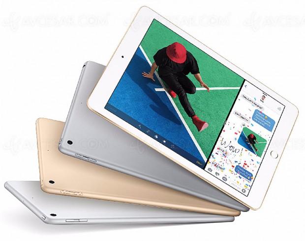 Commercialisation de deux nouveaux iPad, 10,5