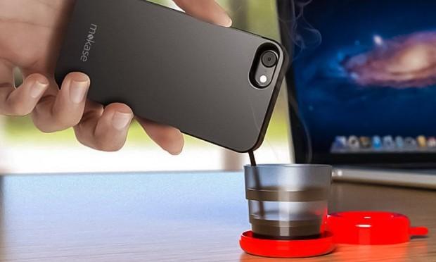 Et maintenant, le smartphone fait le café !