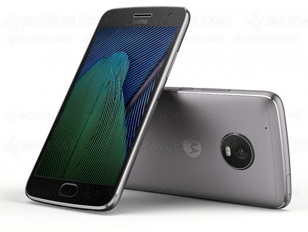 Test smartphone Lenovo Moto G5 Plus, en ligne