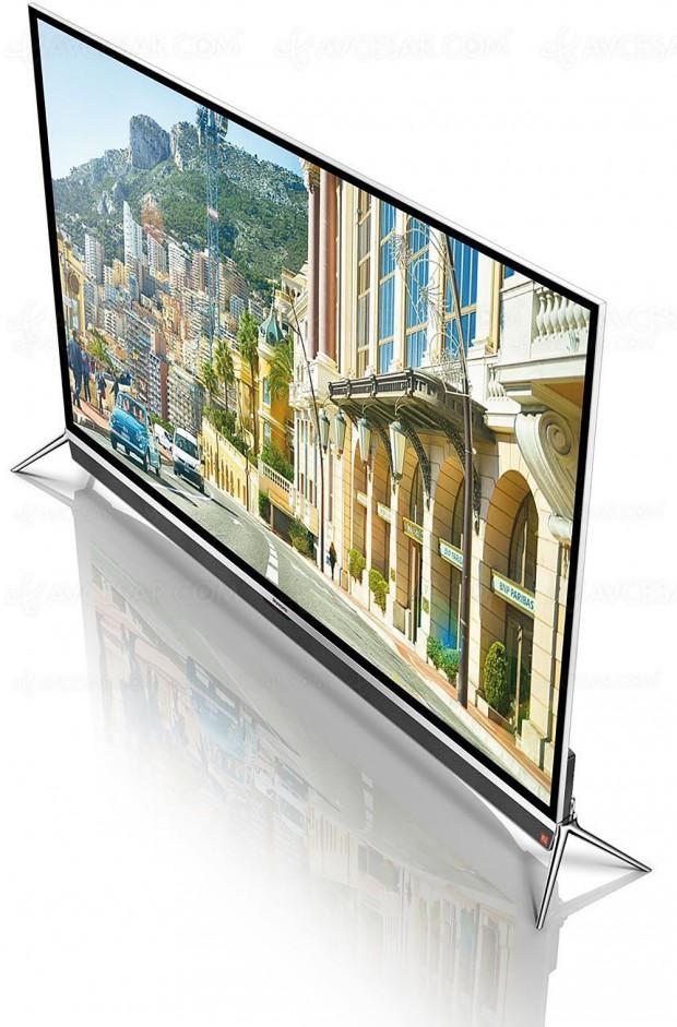 TV LED Ultra HD Skyworth 55G9200S, Smart Android 5.0 et épaisseur de 7,5 mm