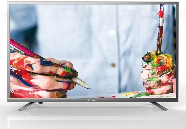 TV LED Ultra HD Skyworth 43E5600S, la marque chinoise arrive en France avec un TV au prix très attractif