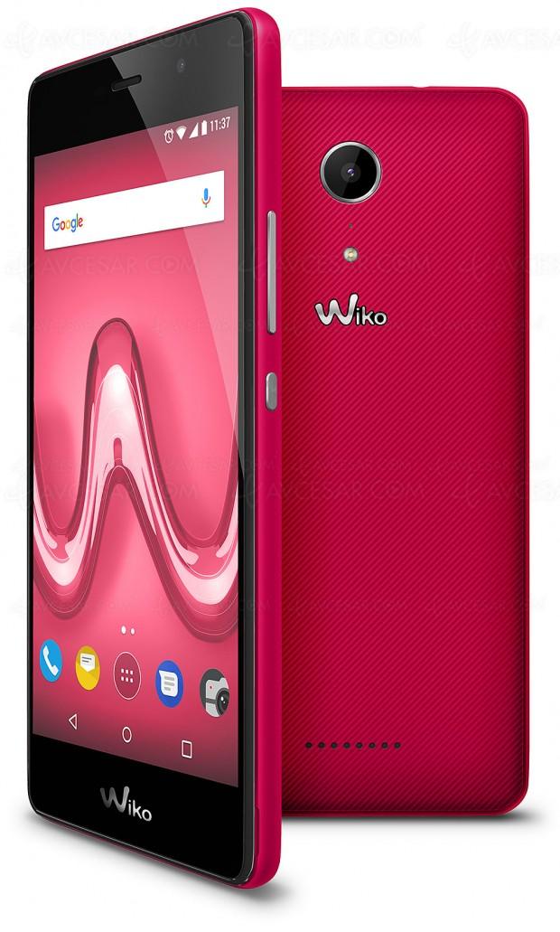 Smartphone Wiko Tommy 2, grand écran et petit prix
