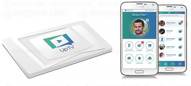 Abonnement 4G+ pour la carte UpTV