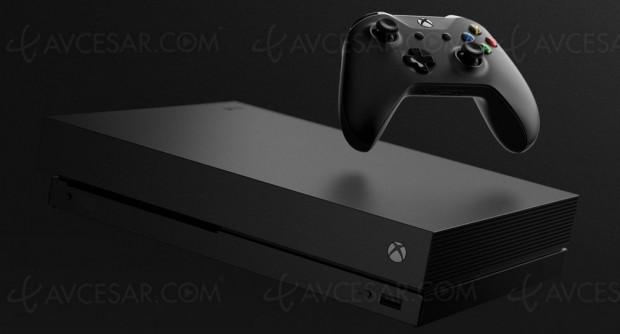 Xbox One X, lecteur Ultra HD Blu‑Ray et console la plus puissante de l'histoire