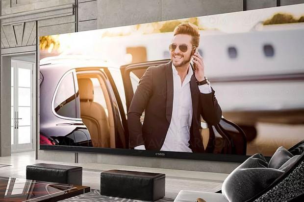 TV C Seed 262 : plus de 6 m de diagonale et plus grand téléviseur 4K du monde