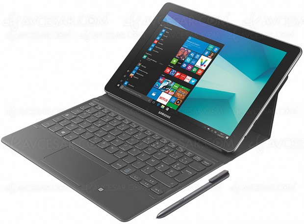 Samsung Galaxy Book 10, tablette Windows 10 deux‑en‑un