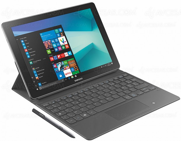 Samsung Galaxy Book 12, trois tablettes Windows 10 deux‑en‑un