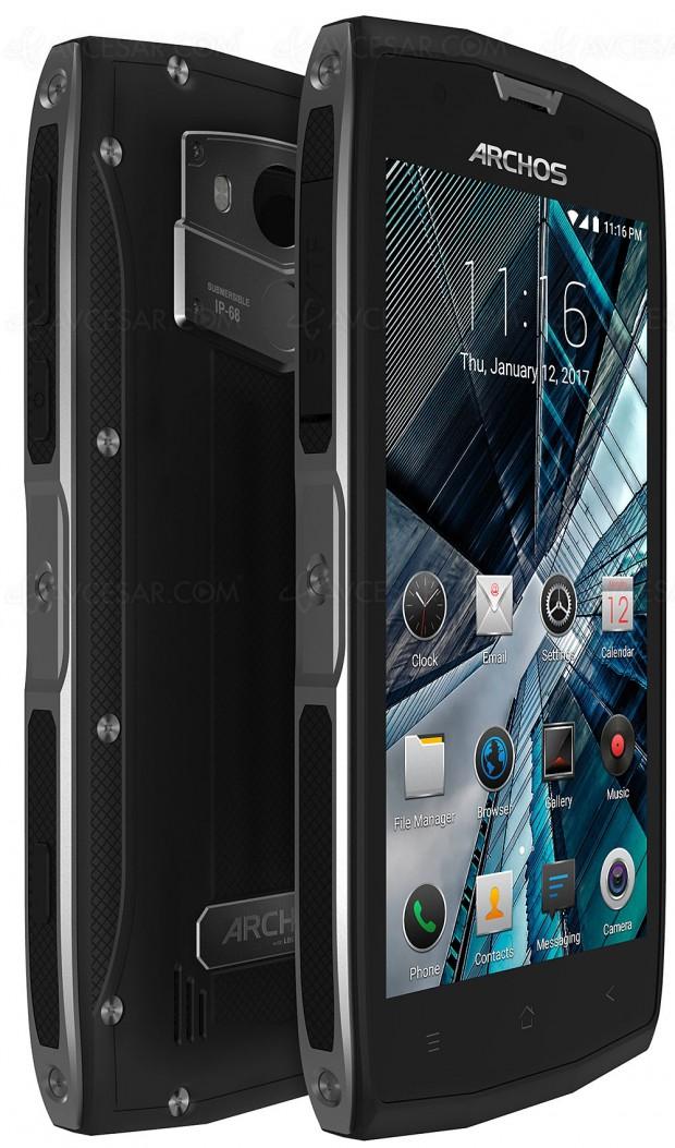 Archos Sense 50x, smartphone durci à toute épreuve