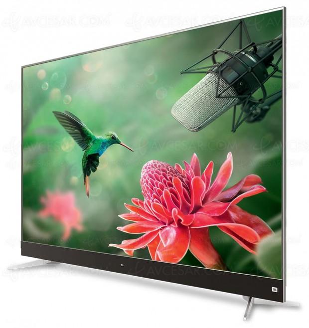 TV LED Ultra HD TCL C70, mise à jour prix indicatifs